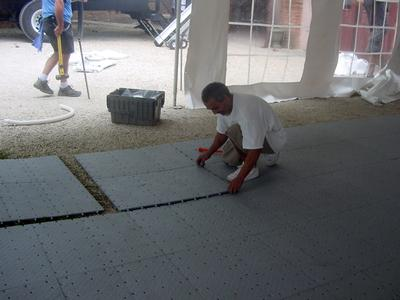 temporary flooring