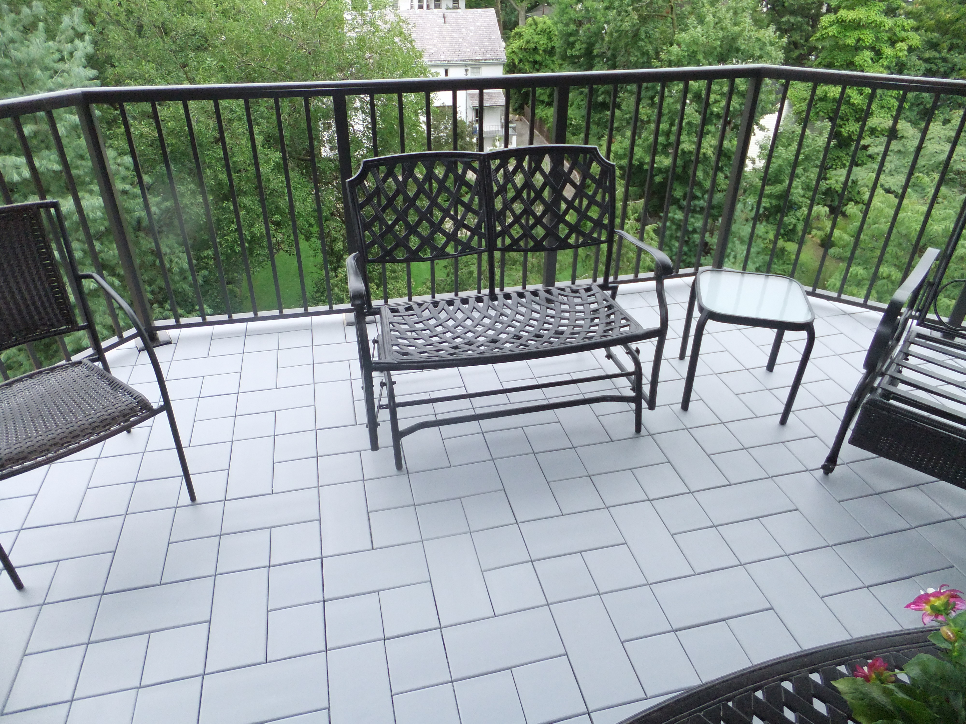 composite balcony tiles
