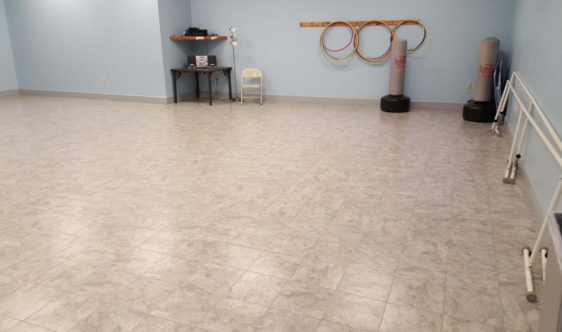 vinyl tiles beige stone