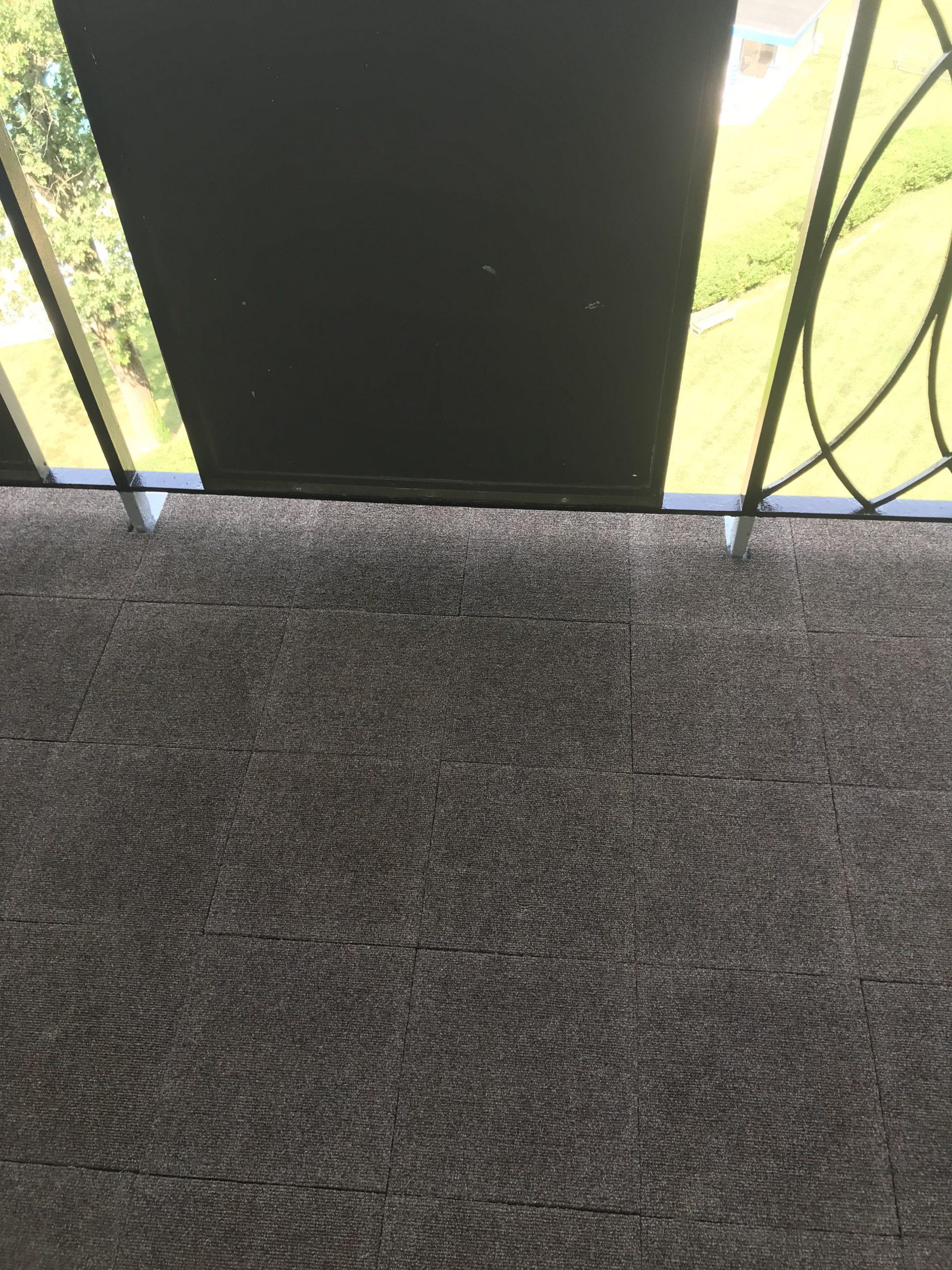 Autumn Woods Carpet Tile Install 1