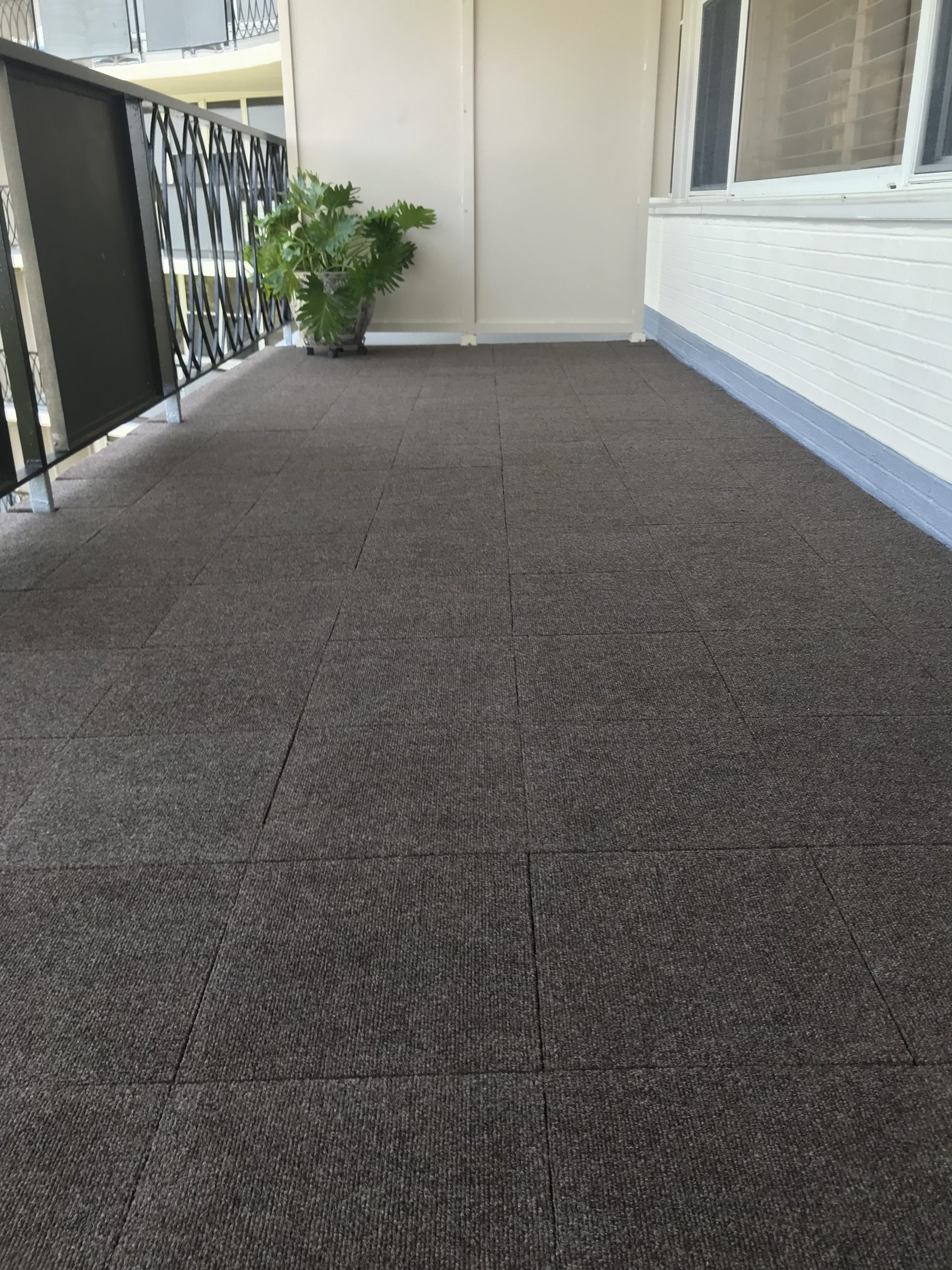 Autumn Woods Carpet Tile Install 3