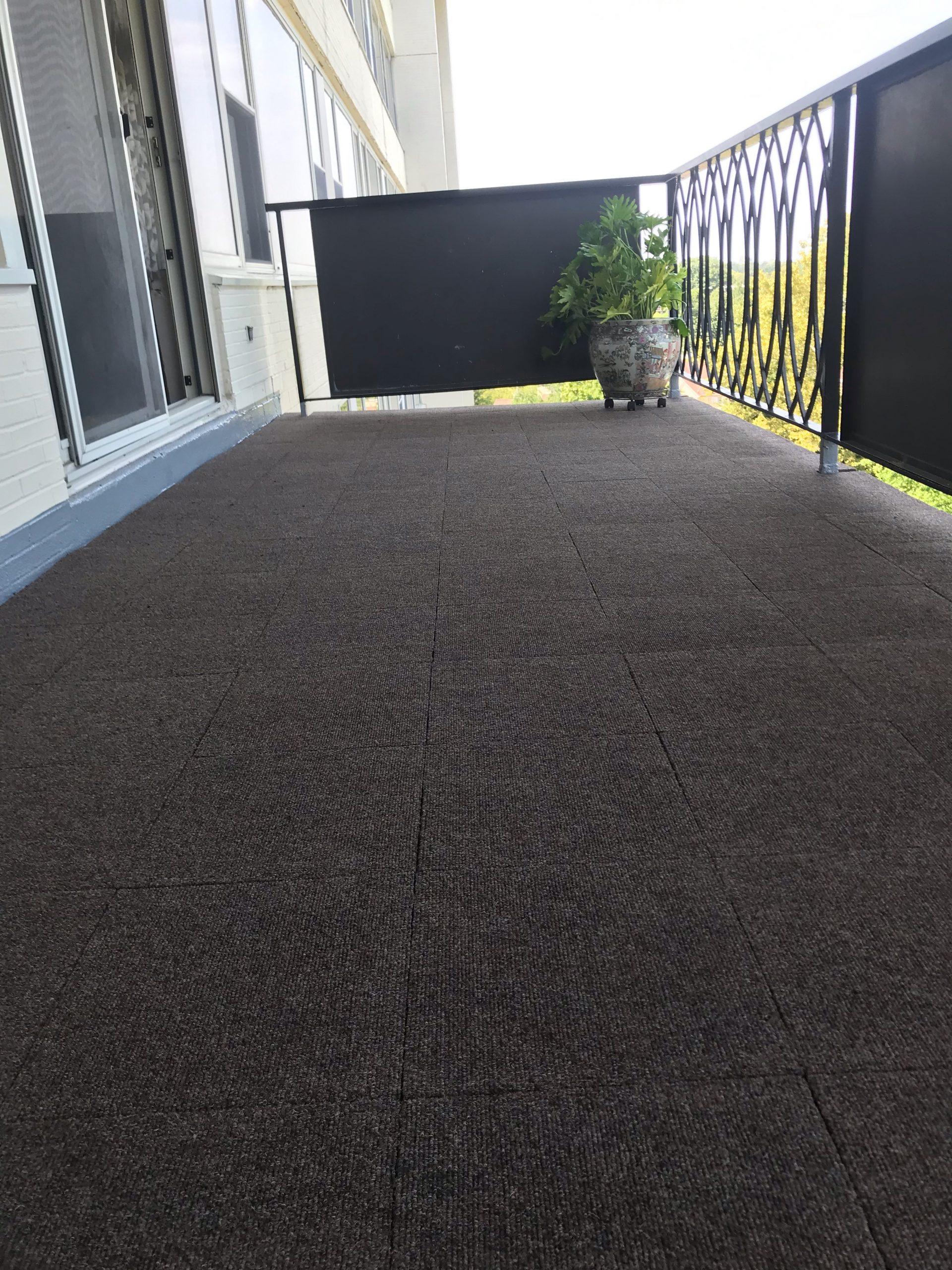 Autumn Woods Carpet Tile Install 4